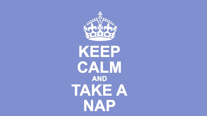 Coronavirus: Keep Calm and Take a Nap